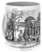 Jefferson: Monticello Coffee Mug by Granger