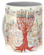 Jerusalem -watercolor On Parchment Coffee Mug