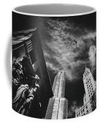 Jet Over Michigan Avenue Coffee Mug