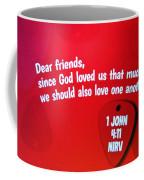 1 John Bible Verse Coffee Mug