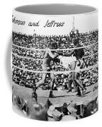 Johnson Vs. Jeffries, 1910 Coffee Mug by Granger