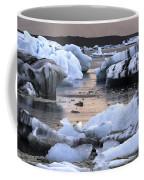 Jokulsarlon Glacier Lagoon Iceland 2050 Coffee Mug