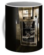 Jorge Rivero Movie Theater Poster Us/mexico Border Town Naco Sonora Mexico Coffee Mug