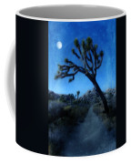 Joshua Trees At Night Coffee Mug