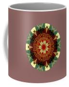 Kaleidoscope - Warm And Cool Colors Coffee Mug by Deleas Kilgore