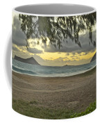 Kaohikapu Island Sunrise Coffee Mug
