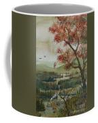 Kayak Camping Coffee Mug
