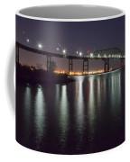 Key Bridge At Night Coffee Mug