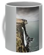 Kilt Rock Waterfall - Isle Of Skye Coffee Mug