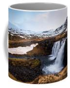 Kirkjufellsfoss Waterfalls Iceland Coffee Mug