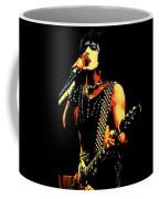 Kiss In Concert Coffee Mug