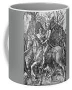 Knight Death And The Devil Coffee Mug