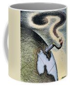 Korean War: Cartoon, 1950 Coffee Mug