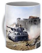 Korean War: Tank, 1951 Coffee Mug