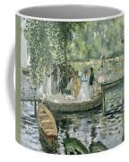 La Grenouillere Coffee Mug by Pierre Auguste Renoir