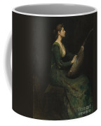 Lady With A Lute Coffee Mug