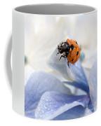 Ladybug Coffee Mug by Nailia Schwarz