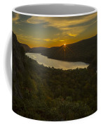 Lake Of The Clouds Sunrise Coffee Mug