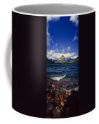 Lake Sherburne, Glacier National Park Coffee Mug