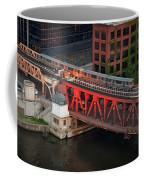 Lake Street Crossing Chicago River Coffee Mug
