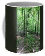 Lakeside Trail Winding Path - Yellowwood Lake Coffee Mug