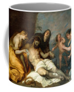 Lamentation Over The Dead Christ Coffee Mug