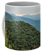 Landscape View At Cedar Mountain Overlook Coffee Mug