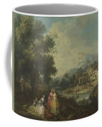 Landscape With A Group Of Figures Coffee Mug