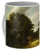 Landscape With A Village Road Coffee Mug