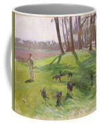 Landscape With Goatherd Coffee Mug