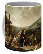 Landscape With Jacob And Rachel Coffee Mug