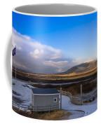 Langjokull  Glacier Coffee Mug