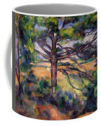 Large Pine And Red Earth Coffee Mug