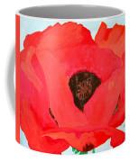 Large Poppy Coffee Mug