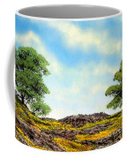 Lava Rock And Flowers Coffee Mug