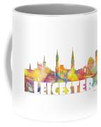 Leicester England Skyline Coffee Mug