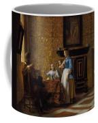 Leisure Time In An Elegant Setting Coffee Mug