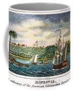 Liberia: Freed Slaves 1832 Coffee Mug
