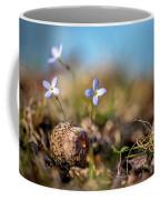Life Delicate And Strong Coffee Mug