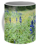 Lilac Flower In Green Canvas Spring Has Arrived 1 Coffee Mug