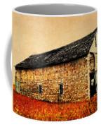 Lime Stone Barn Coffee Mug by Julie Hamilton