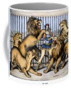 Lion Tamer, 1873 Coffee Mug