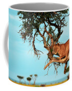 Lioness In Africa Coffee Mug