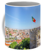 Lisbon Castle Flag Coffee Mug