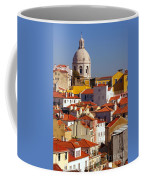 Lisbon View Coffee Mug by Carlos Caetano