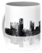 Little Rock Arkansas Skyline Coffee Mug