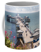 Llandudno Pier North Wales Uk Coffee Mug