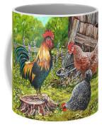 Logging On Coffee Mug by Val Stokes