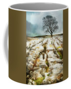 Painted Effect - Lone Tree Coffee Mug by Susan Leonard