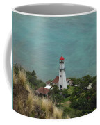 Looking Down At The Lighthouse Coffee Mug